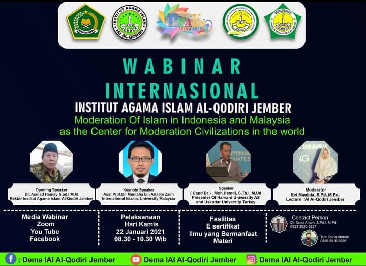 WEBINAR INTERNASIONAL IAI AL-QODIRI JEMBER