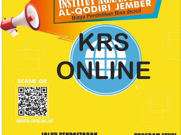 Jadwal KRS Online Semester Genap 2020-2021