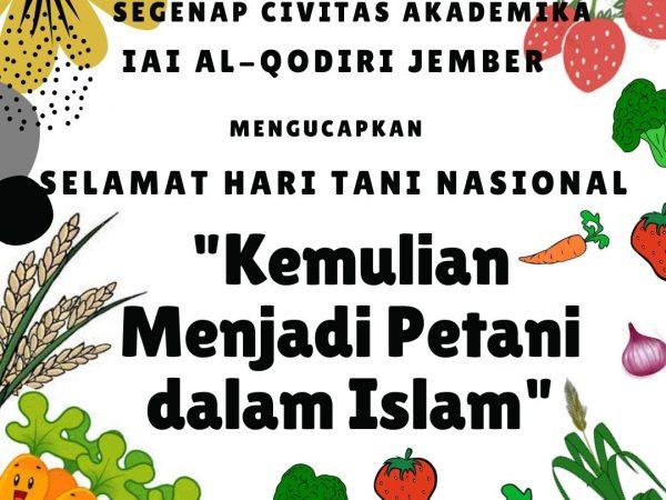 Kemulian Menjadi Petani dalam Islam
